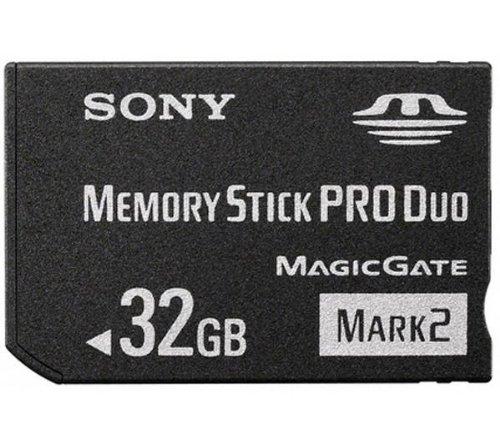 (Sony 32 GB Memory Stick PRO Duo Media MSMT32G)