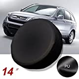 Gplusmotor 14'' Black Spare Wheel Tire Cover/Covers Fit For All Car Universal USA