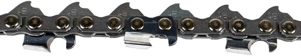 8TEN Chainsaw Chain 16 3//8LP 56 Drive Links for Husqvarna Stihl Echo Poulan Replaces 91VXL056G 501847056 2 Pack