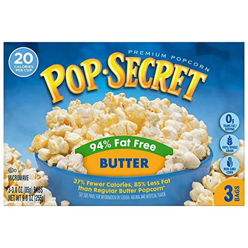 Pop Secret Popcorn, 90 Ounce (Pack of 30)