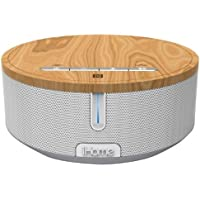 iHome iBN26WC NFC Bluetooth Stereo Speaker System with Speakerphone - White