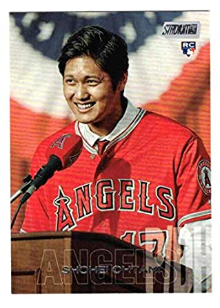Image result for 2018 stadium club shohei ohtani