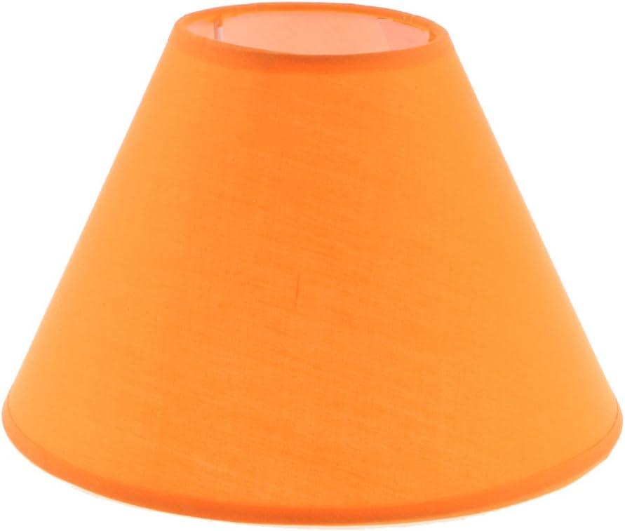 SunniMix 2X E27 Lampenschirm Stoffschirm f/ür Tischlampe Stehlampe Grau