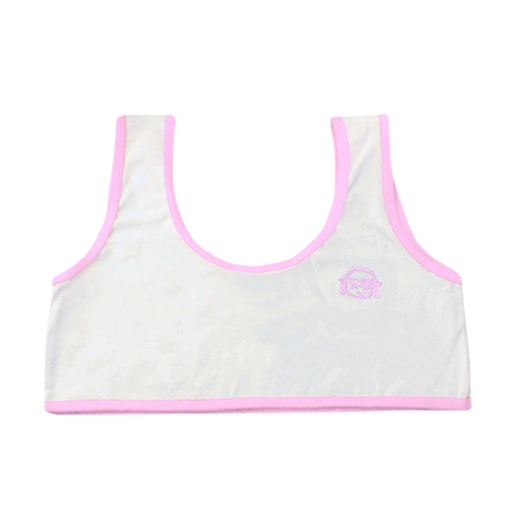 Jamicy for 10-14 Years Old Teenage Girls Cotton Cute Cartoon Pattern Underwear Bra Vest Sport Undies