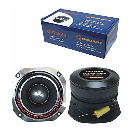 "/& 6x9/"" 700 Watts Car Speakers 4 Pack Q POWER 6.5/"" 300 Watts Car Speaker Pair"