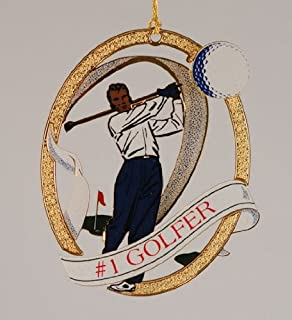 product image for #1 Golfer Christmas Ornament