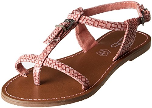 Les Ankle P'tites Sandals Rose Pink Strap Zhoe Women's Vieux Bombes rIOxdCqwr