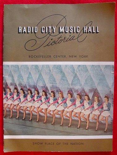 (Radio City Music Hall Pictorial, Rockefeller Center, New York )