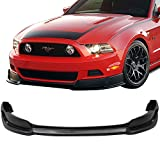 2014 ford mustang v6 accessories - 13-14 FORD MUSTANG RTR STYLE V6 GT FRONT BUMPER LIP URETHANE