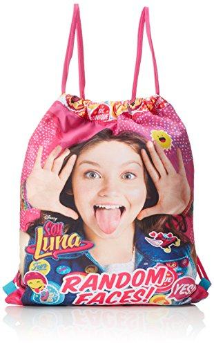 Soy Luna , Borsa da spiaggia  Azul y Rosa 40 cm