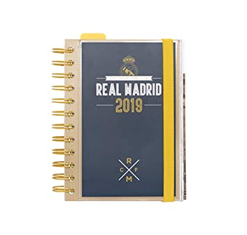 Grupo Erik Editores AGEDP1914 - Agenda anual 2019 con diseño Real Madrid, día pagina