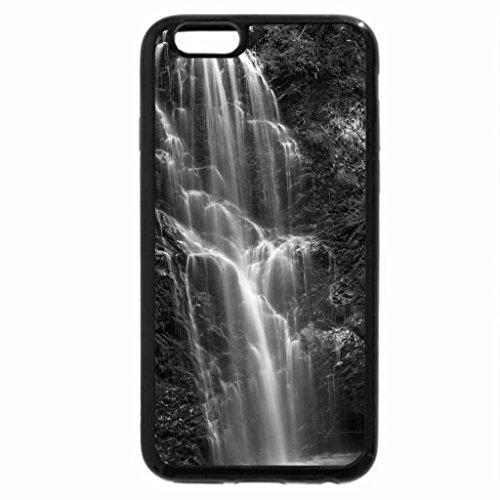 iPhone 6S Plus Case, iPhone 6 Plus Case (Black & White) - berry creek falls in california