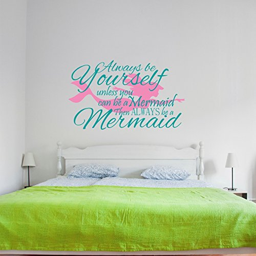 Cheap  Mermaid Kids Wall Decal