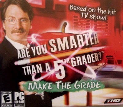 Are You Smarter Than a Fifth Grader Make The Grade PC CD-ROM Software, Windows Vista/XP CD