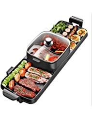 2 In 1 BBQ& Hot Pot,Table-Top Party Grill And Hot Pot(