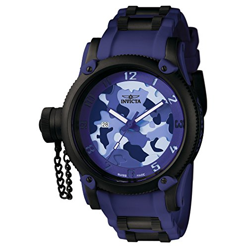 Invicta Men's 1196 Russian Diver Collection Camo Watch ()