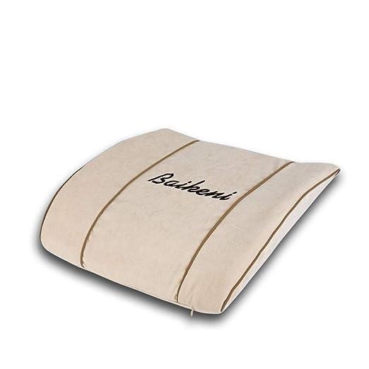 Cojín de soporte lumbar Cojín del asiento Confort Memoria ...