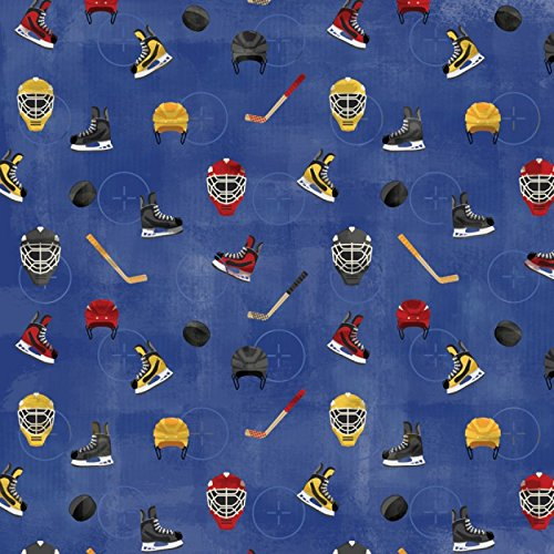 - KAREN FOSTER 12 x 12-Inch Scrapbook Paper, 25 Sheets, Get Ready for Hockey