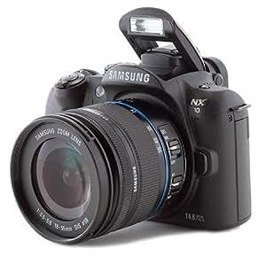 Samsung NX10 - Digital camera - prosumer - 14.6 Mpix - With 18-55mm Lens - supported memory: SD, SDHC -  black