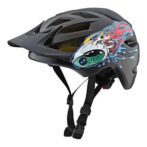 Troy Lee Designs 2018 Youth A1 Eyeball MIPS Bicycle Helmet