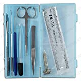 DR Instruments 61936PCT Precision Dissection Kit, Hard Plastic Case, Assorted Color (Pack of 9)