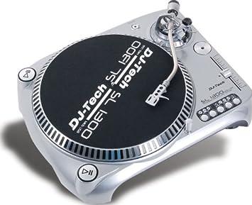 Amazon.com: DJ-Tech SL 1300 MK6 Direct Drive USB Turntable ...