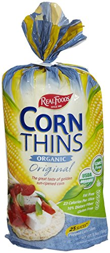 Real Foods Original Organic Corn Thins - 5.3 oz by Real Foods