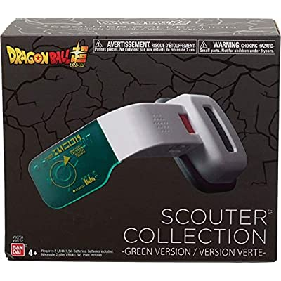 Dragon Ball Super - Green Scouter: Toys & Games