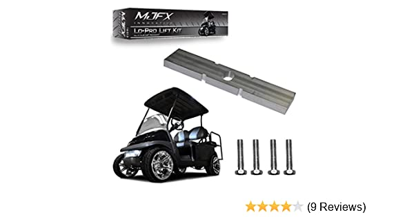 Madjax Lo-Pro 2004-Up Lift Complete Kit for Club Car Precedent Golf Carts