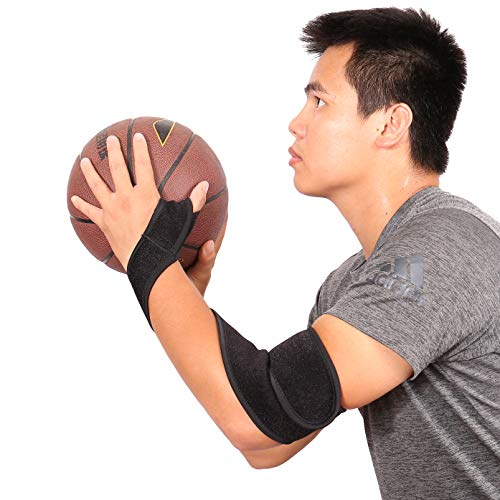 TopFan Basketball Jump Shot Strap Aid for Basketball Shoot Training - Wrap Strap Basketball Shooting Aid Stop Thumbing The Basketball