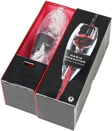 Gaocunh Wine Aireador de Vino, Aireador-Decantador de Vino, Especial para Vino Tinto. Sabores mejorados y Mejor sensación bucal, vinoteca
