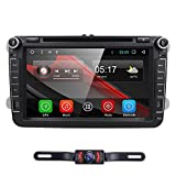 Android 7.1 VW Passat T5 Golf MK5 Jetta GTI Polo EOS Skoda 8 inch Car Stereo DVD Player GPS Nav Radio Camera