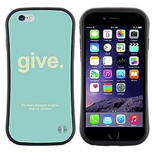 """Pulsar iFace Series Tpu silicona Carcasa Funda Case para Apple (4.7 inches!!!) iPhone 6 Plus / 6S Plus ( 5.5 ) , Cita cristiana Dios Salmo trullo texto"""""""