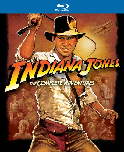 Indiana Jones: The Complete Adventures (Raiders of the Lost Ark / Temple of Doom / Last Crusade / Kingdom of the Crystal Skull) [Blu-ray] (Indiana Jones Crystal Temple)