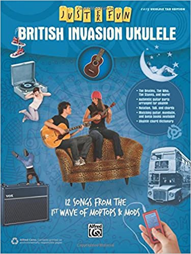 Amazon com: Just for Fun -- British Invasion Ukulele: 12 Songs from