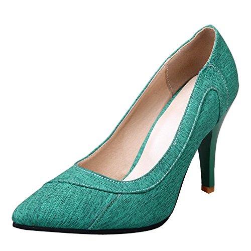 MissSaSa Damen High Heel Ohne Ankle Strap Pumps