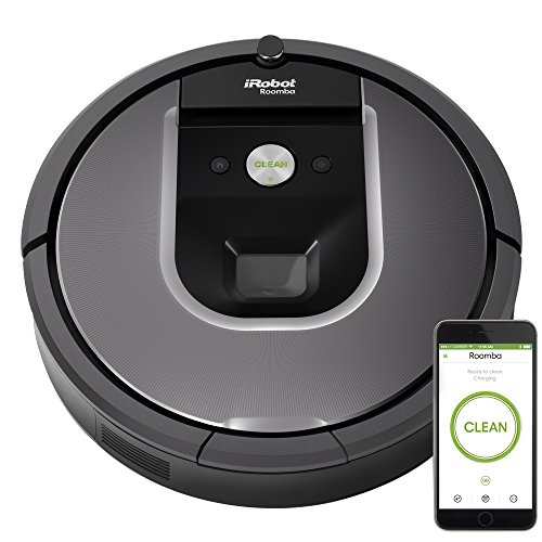 - iRobot Roomba 960 Robot Vacuum Bundle- Wi-Fi Connected, Mapping, Ideal for Pet Hair (+1 Extra Virtual Wall)