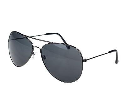Femmes Hommes Été Glasses, Unisex Mode Anti UV400 aviateur lunettes de soleil par Reaso (Or + Vert)