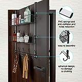 LUCYCAZ Over The Door Hooks Organizer Hanger, Towel