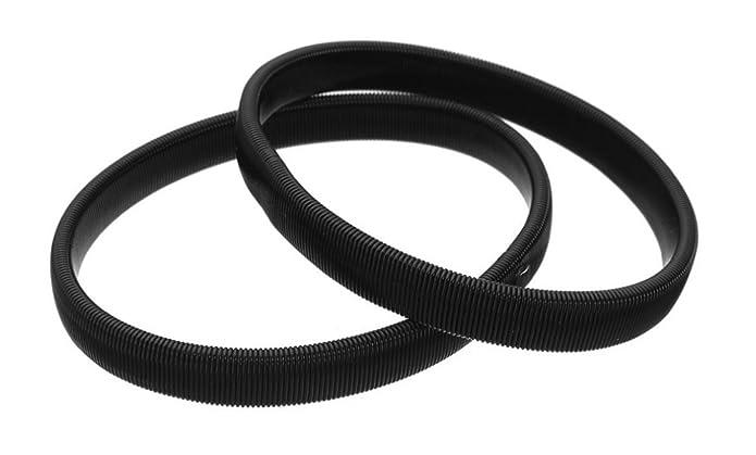 Topro - Coppia di ferma maniche di camicia , in metallo, elastici, colore:  bianco, cod. DRJW422 White: Amazon.it: Gioielli
