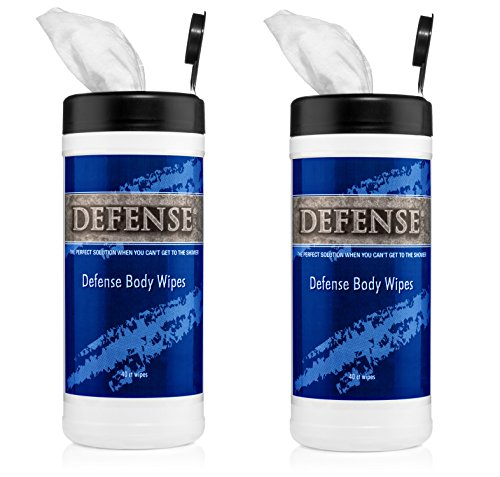 Defense Soap Body Wipes 40 Count (Pack of 2) - 100% Natural and Pure Pharmaceutical Grade Tea Tree Oil and Eucalyptus Oil Helps Wash Away Ringworm, Jock Itch, Dry Skin, Dandruff, Acne, Psoriasis (Best Pro Wrestling Matches Of All Time)