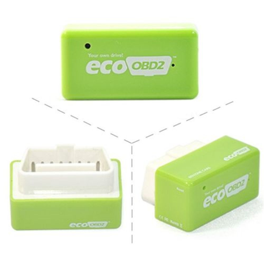 Green-Eco Plug and Drive NitroOBD2 Performance Chip Tuning Box for Petrol Cars