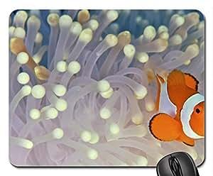 Anemonefish (Clownfish) Mouse Pad, Mousepad (Fish Mouse Pad)