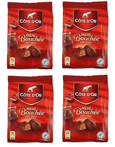 Cote d'Or Mini Boucheés pack of 4.3 oz (122 gram) [PACK OF 4]