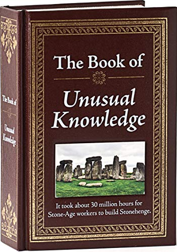 The Book of Unusual Knowledge (Gifts Him Christmas 2019 For)