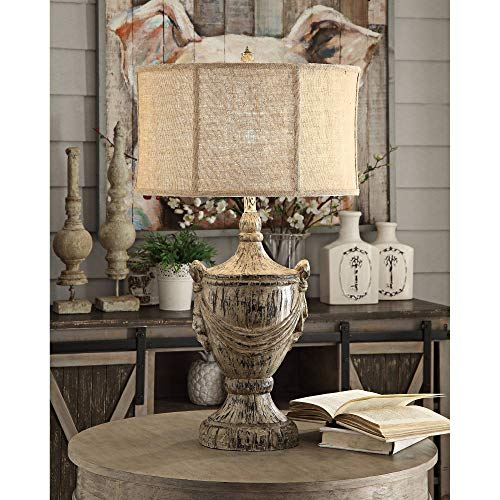 Crestview Collection Jameson Bony Wood Table Lamp from Crestview Collection