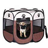 Cheap Dog Playpen Pet Cats Playpen Portable Exercise Kennel for Dogs Cats Exercise Kennel Indoor Pet Playpen Tent House For Small Dogs Cats