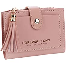 Clearance Sale! ZOMUSA Women Simple Retro Letters Short Wallet Coin Card Holders Square Purse