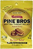 Pine Bros. Softish Throat Drops Value Size, Natural Honey, 3 Count