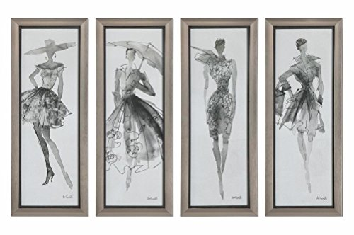 Accented Tall Fashion - Fashion Sketchbook Art, S/4